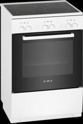 Bosch HKA000020U Serie 2 Keramisk Komfur - Hvid