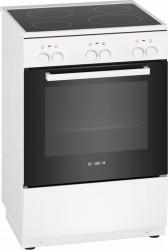 Bosch Hka000021u Serie 2 Keramisk Komfur - Hvid