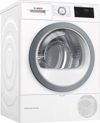 Bosch Wtu876s9sn Kondenstørretumbler - Hvid