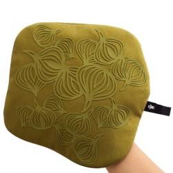 Bosign Non-Slip Grydelappe/ med lomme Silikone Olivengrøn 22 cm