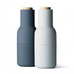 Bottle kvÆrn sÆt (blÅ)