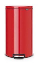 Brabantia Flatback+ Pedalspand Rød 30 L
