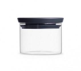 Brabantia Glasbeholder Stabelbar 0.3 Ltr Glas/Gråt låg