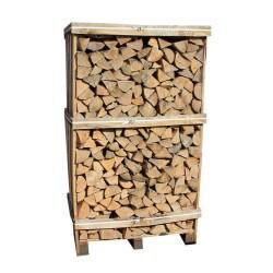 Brænde - Lufttørret asketræ