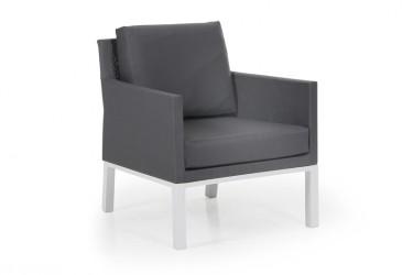 Brafab - Balma Loungestol med grå hynder