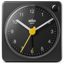 Braun alarmur - BC02XB - Sort