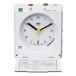 Braun rejsevækkeur - BNC005WH - Hvid