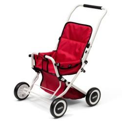 BRIO dukkeklapvogn - Sitty - Rød