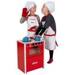 BRIO komfur - Rød