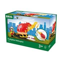 Brio Tog 33797 Brandhelikopter