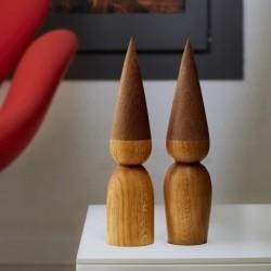 By Brorson træ nisse - 25 cm
