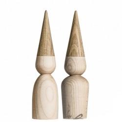 By Brorson træ nisse ahorn og eg - 25 cm