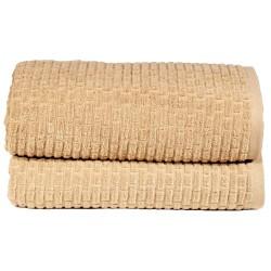 BySkagen håndklæder - Brick - Beige