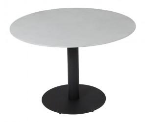 Cafébord Ø70 - Sort/grå
