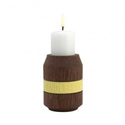 Candle can lysestage (rØget eg/250 ml)