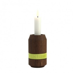 Candle can lysestage (rØget eg/330 ml)