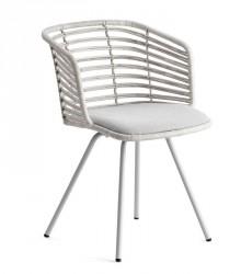 Cane-line - Spin Spisebordsstol - Hvid