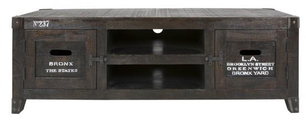 Canett Manly Tv-bord - Mangotræ m. Print
