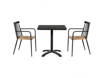 CASA Living Cafesæt Wilma - 2 stole og 1 bord