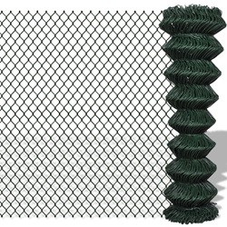 Chain Fence 1.5 x 15 m Green
