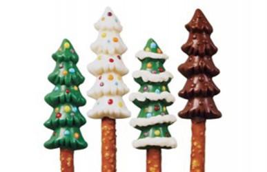 Chokoladeform, Juletræer