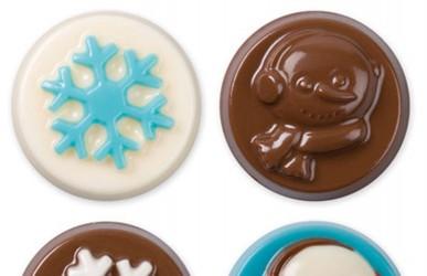 Chokoladeform, snowflake wishes