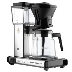 Cirkelpigen Moccamaster kaffemaskine - HB931 - Polished silver