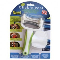 Clickn Peel 3-in-1 multikøkkenredskab