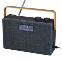 Clint stereo DAB+/FM radio - Model F7 - Sort/kobber