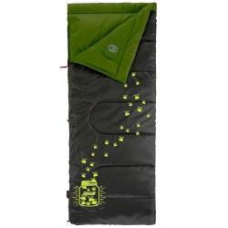 Coleman sovepose - Youth Glow In The Dark - Grå/pastelgrøn