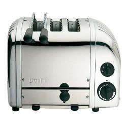Combi brØdrister og toaster (krom)
