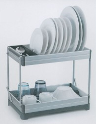 Conzept - Opvaskestativ luksus foldbart - Aluminium