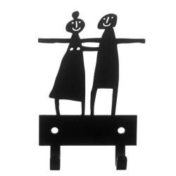 Couple Hanger knagerække - sort