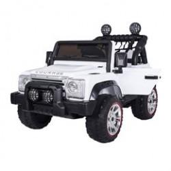 Courage elbil - Jungle Car - Hvid