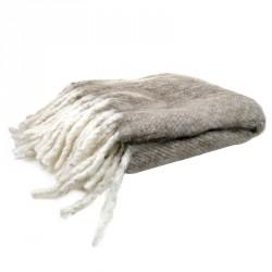 Cozy Room Wool Plaid Beige
