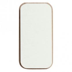 Create me lid (6x12 cm/hvid)