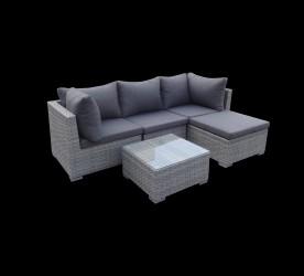 Dacore - Sofa med chaiselong modul - Grå