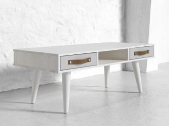 Dance Sofabord - Hvid/Hvid