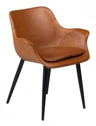 Danform - Combino Spisebordsstol m/armlæn - Lysebrun