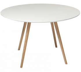 Danform - Orso Spisebord - Hvid - Ø120