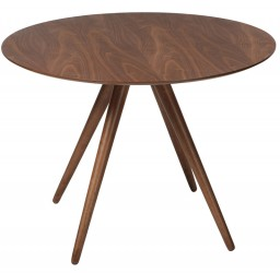 Danform - Pheno Spisebord - Valnød - Ø106