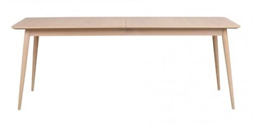 Dawsonee Spisebord Hvidpigmenteret Eg 200x90 cm