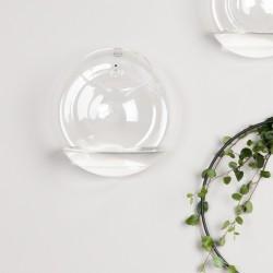 DBKD glas vase til væg - large