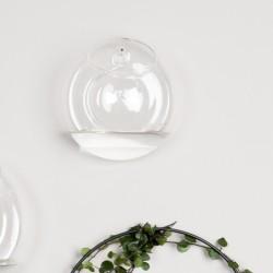 DBKD glas vase til væg - medium