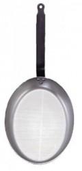 de Buyer Carbone Plus Fiskestegepande Oval 32x22,5 cm