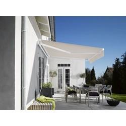 DEBEL Standard markise hvid/natur 250 x 200 cm