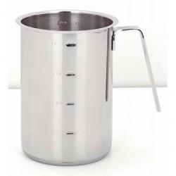 Demeyere Resto Høj sovs/mælke kasserolle. 10cm, 1,1 L