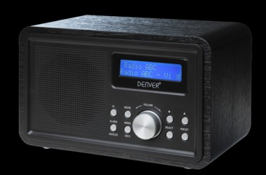 Denver - DAB+ radio - Sort
