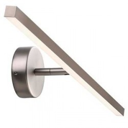 Design for the people Ip s13 væglampe – 60 cm, børstet stål