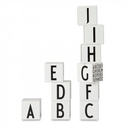 Design Letters AJ Wooden Cubes ABC
